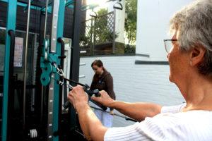 """Der """"Cage"""" – das Kernelement des Outdoor-Trainingsparks auf Fehmarn – ermöglicht weit über 20 zusätzliche Übungen an neun Stationen."""